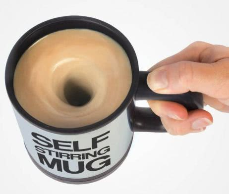 Self-Stirring Mug