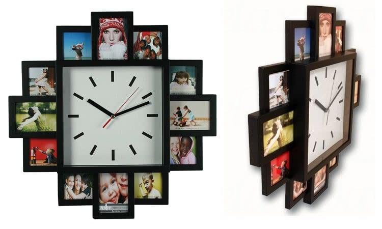 Часовник с 12 Места за Снимки