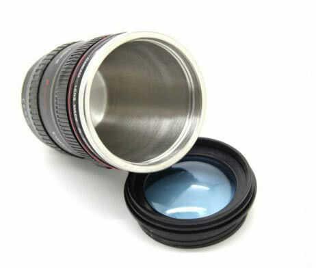 Чаша-Обектив с Прозрачен Капак